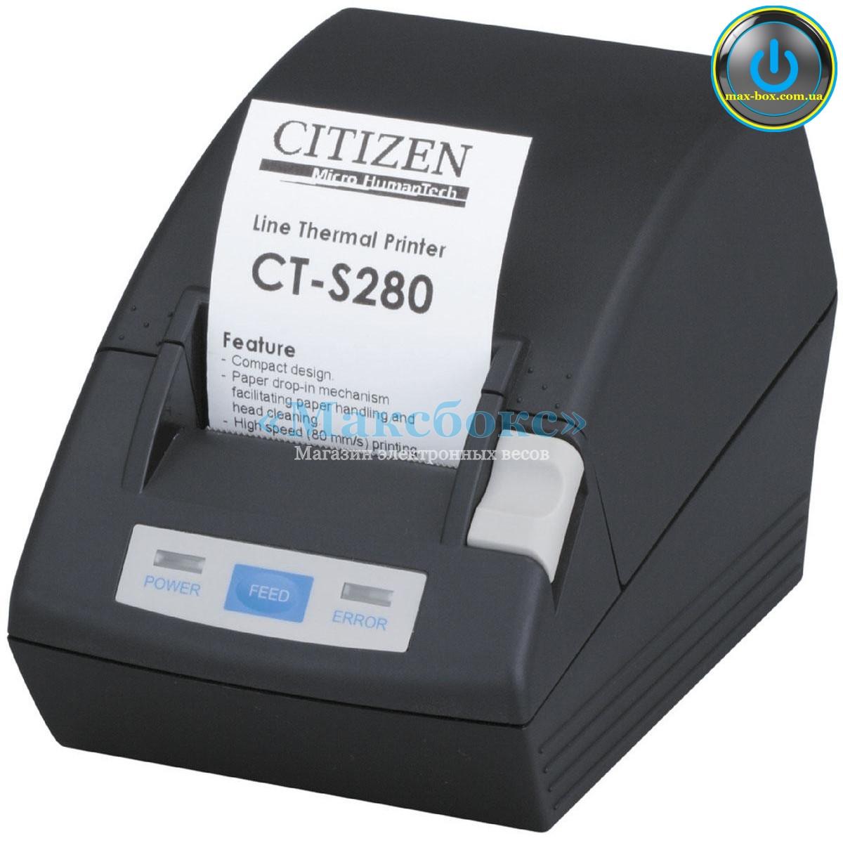 Принтер чековий Citizen CT S 280 RS LPT