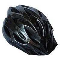 Велосипедный шлем универсальный со съемным козырьком SmartWorld FT-09-7 56-62 см Черный 80840242, КОД: 212420