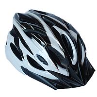 Велосипедный шлем универсальный со съемным козырьком SmartWorld FT-09-11 56-62 см Серый 80840244, КОД: 212421