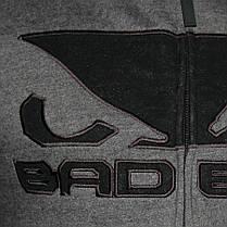 Спортивная кофта Bad Boy Fleece Dark Grey XL, фото 3