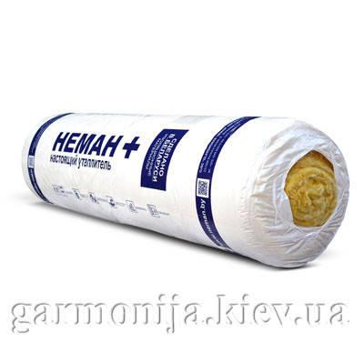 Стекловата НЕМАН+ М11 Лайт 2х50х1200х6250, 15 м.кв., фото 2