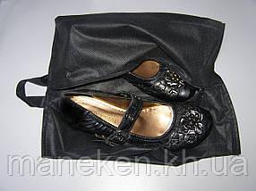 Чехол для обуви TREMVERY 37х26 со змейкой черный (спанбонд)