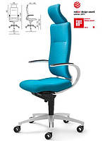 Кресла немецкие InTouch высокий с подголовником (white)