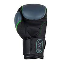 Боксерские перчатки Bad Boy Pro Series 3.0 Green 14 ун., фото 3