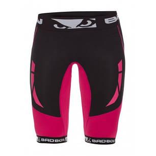 Компрессионные шорты женские Bad Boy Compression Shorts Black/Pink M, фото 2