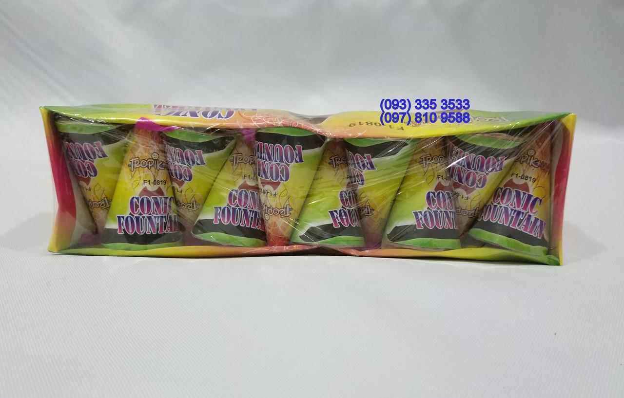 Фонтан новогодний маленький Tropic Conic Fountain F1-0819 (упаковка 10 шт)
