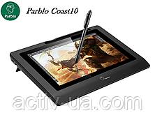 Монитор-планшет графический Parblo Coast10, рабочая поверхность 217*136мм, разрешение 1280*800