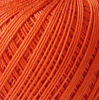 Хлопковая пряжа салатовая, Violet Оранжевый