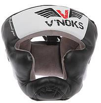 Боксерский шлем V`Noks Aria White M, фото 2
