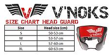 Боксерский шлем V`Noks Potente Red L, фото 3