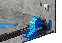 Система цепной уборки навоза в поперечном канале Patz  IntelliShuttle Chain