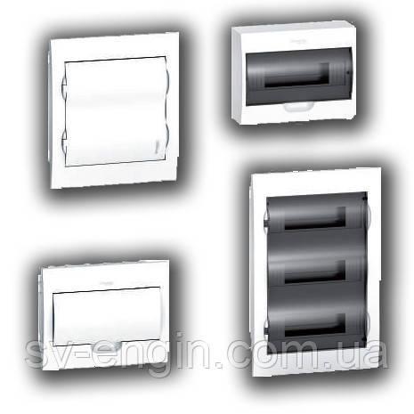 Easy9 (SCHNEIDER ELECTRIC, Франция) - встраиваемые и навесные распределительные щиты