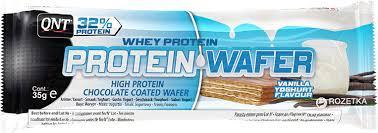 QNT_Protein Wafer 35 г - Vanilla Yoghurt