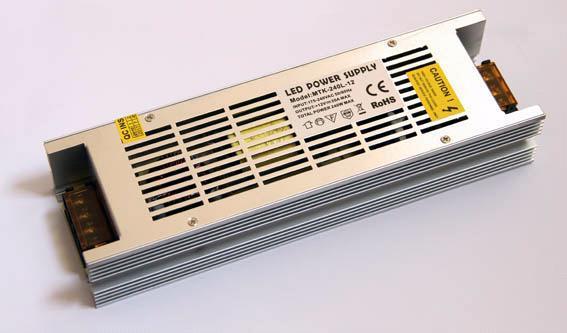 Блок питания 12V 240W (20A) long