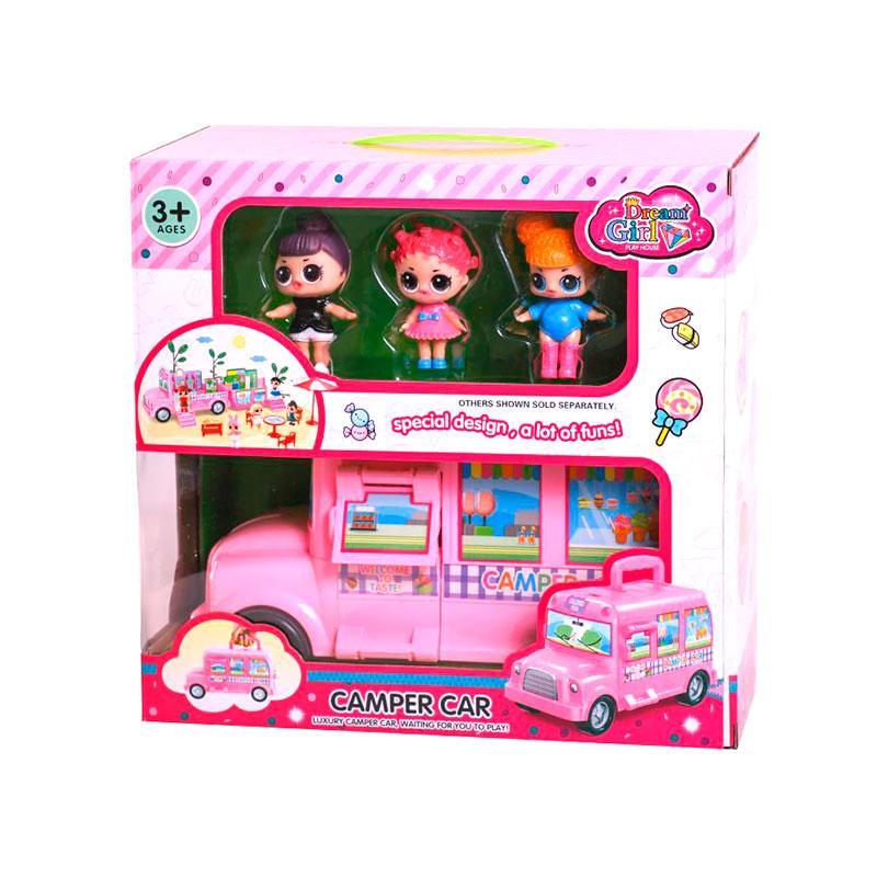 игровой набор Lol 588 3 машина дом на колесах продажа цена в