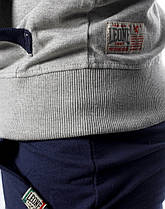 Спортивний костюм Leone Fleece Grey/Blue XL, фото 2