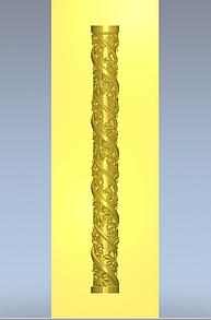 Колона різьблена 120х120х800мм