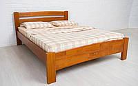 Деревянная кровать Милана Люкс 80х190 см. Аурель (Олимп), фото 1