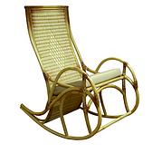 Плетенное кресло-качалка Каприз ЧФЛИ из ротанга