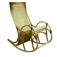 Плетенное кресло-качалка Каприз ЧФЛИ из ротанга, фото 1