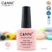 Гель-лак CANNI № 047 (розово-персиковый), фото 1