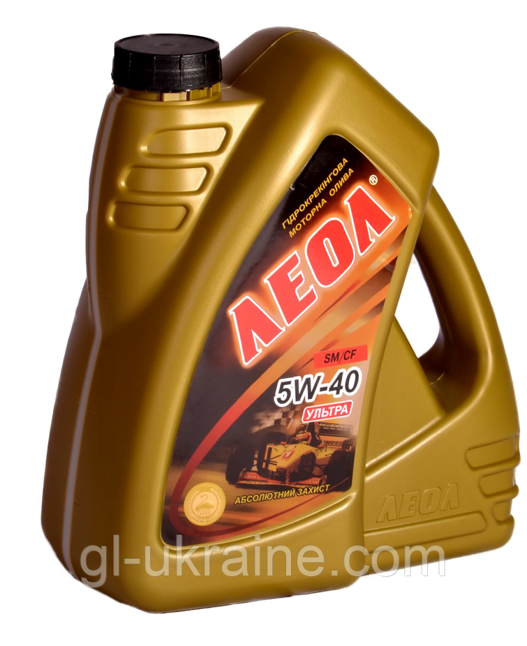 ЛЕОЛ ULTRA 5W-40, Моторное масло 4 л