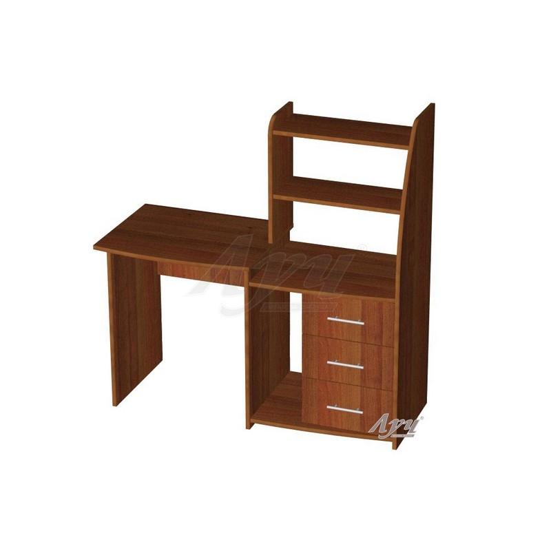 компьютерный стол угловой с полками марс орех цена 2 725 грн