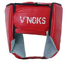 Боксерский шлем V`Noks Lotta Red XL, фото 2