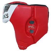 Боксерский шлем V`Noks Lotta Red XL, фото 3