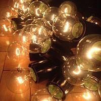 Шаг между лампами 25 см