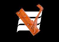 Кронштейн снегозадерживающей решетки Eurovent FIX METAL FLAT