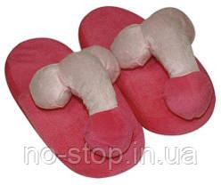 Тапочки - House Slippers Penis PINK