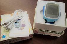 Часы Smart Baby Watch Q80 Blue Гарантия 1 месяц, фото 3