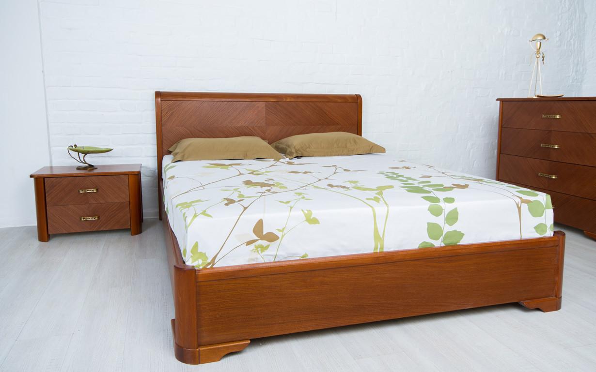 Деревянная кровать Милена 120х190 см. Аурель (Олимп)