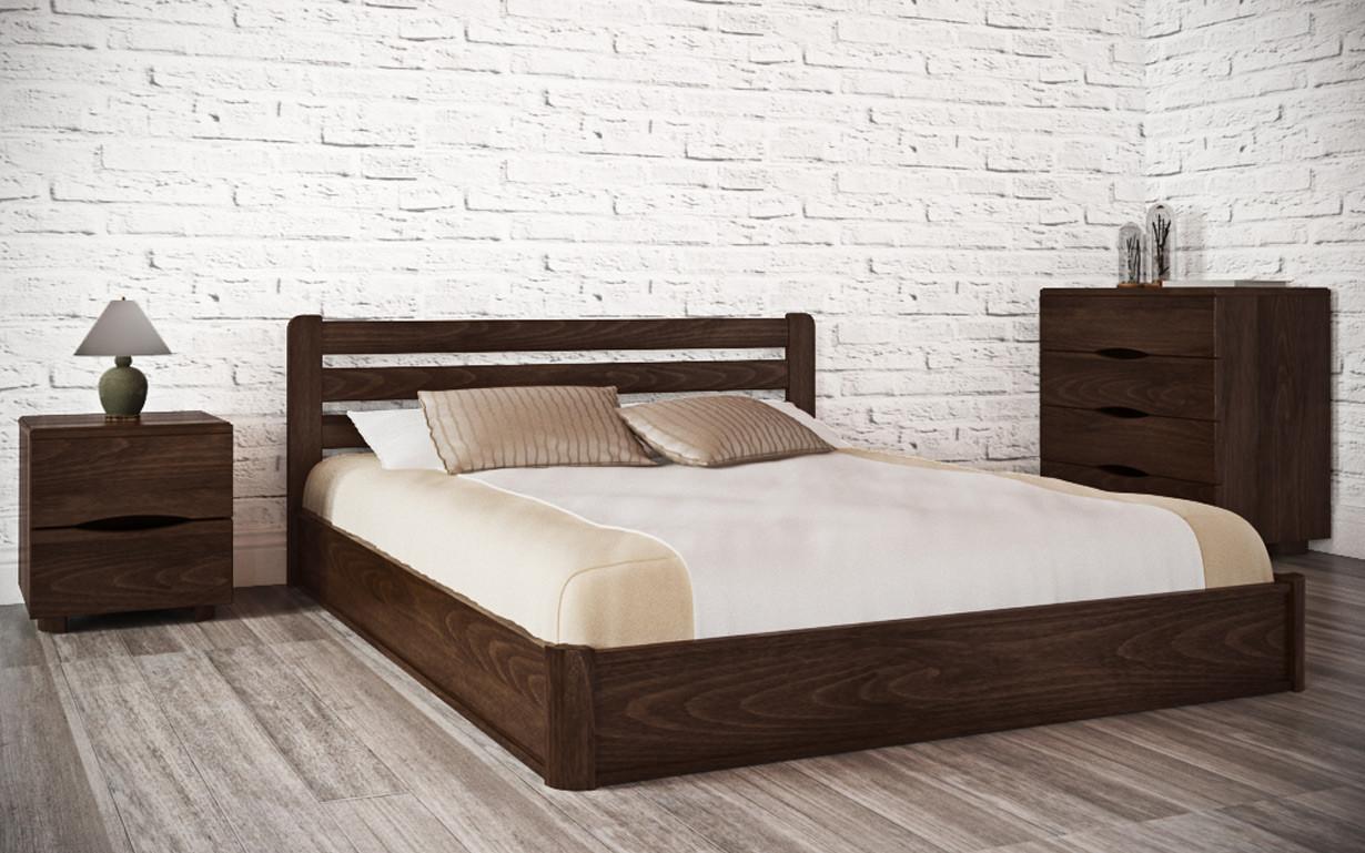 Деревянная кровать София  120х190 см. Аурель (Олимп)