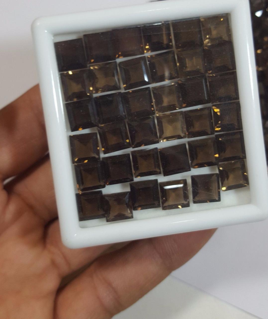 Натуральный дымчатый кварц  8 mm