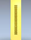 Колона різьблена дерево 120×120×800 мм, фото 2