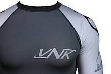 Рашгард с коротким рукавом VNK Scath Grey L, фото 2