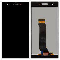Дисплей модуль Sony Xperia Z1s C6916 чорний