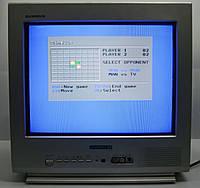 ЭЛТ телевизор маленький с плоским экраном Daewoo KR15U7FL, фото 1