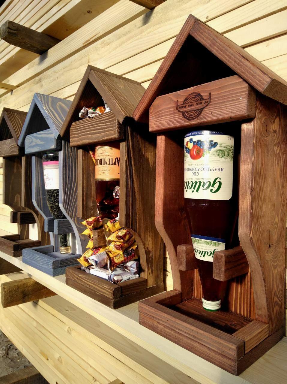 Подарочная упаковка «Кормушка» под алкоголь (спиртное)