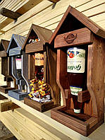 Подарочная упаковка «Кормушка» под алкоголь (спиртное), фото 1