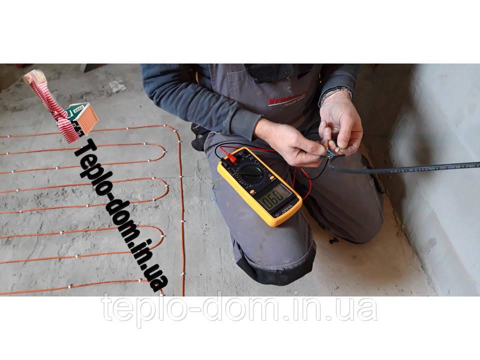 Кабель нагревательный обогрев пола (для дома и дачи) 3.8 м.кв.