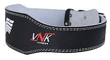 Пояс для тяжелой атлетики VNK Leather L, фото 3