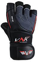 Рукавички для фітнесу VNK SGRIP Grey XL, фото 2
