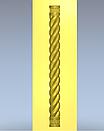 Колона різьблена 100*100*1000мм, фото 3
