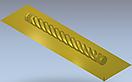 Колона різьблена 100*100*1000мм, фото 4