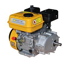 Двигатель бензиновый Forte F210GRP  (7 л.с., ручной стартер, понижающий редуктор шпонка Ø19мм) + доставка