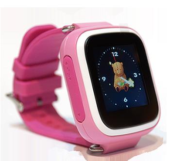 Часы Smart Baby Watch Q80 Pink Гарантия 1 месяц, фото 2