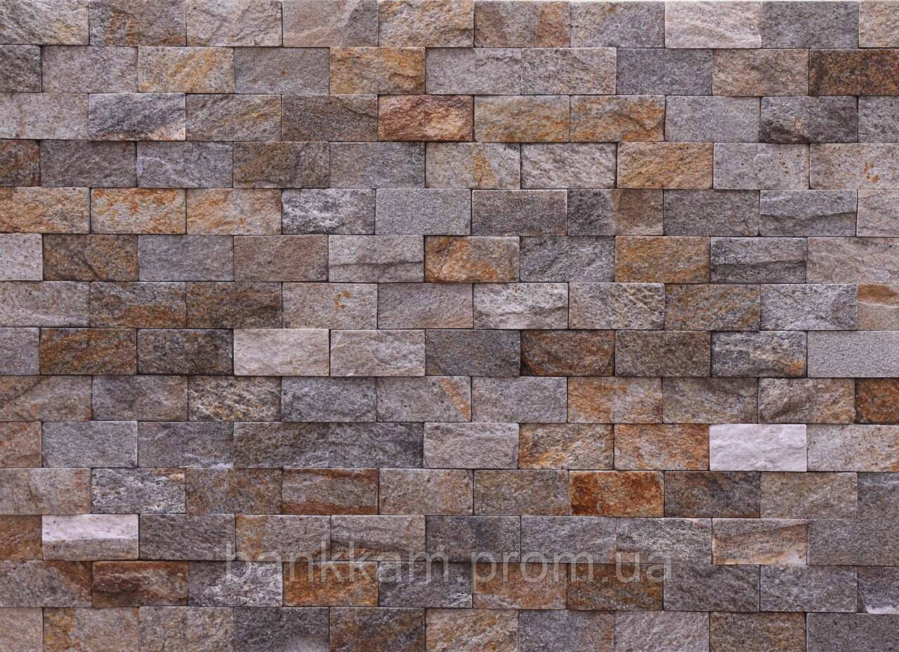Мозаїка-панель Срібна Болгарія перфект (без шва для фуги; уп. 0,5 кв.м.)